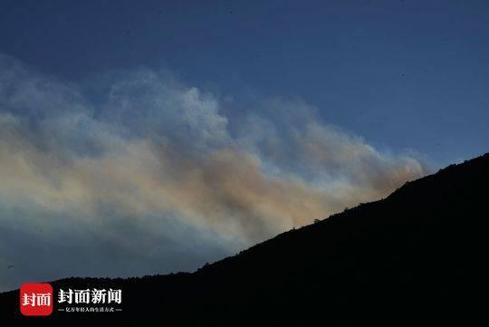 四川凉山木里县森林火灾30人失联
