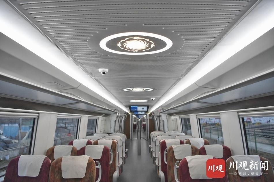 这辆市域列车时速160km 带你抢先体验