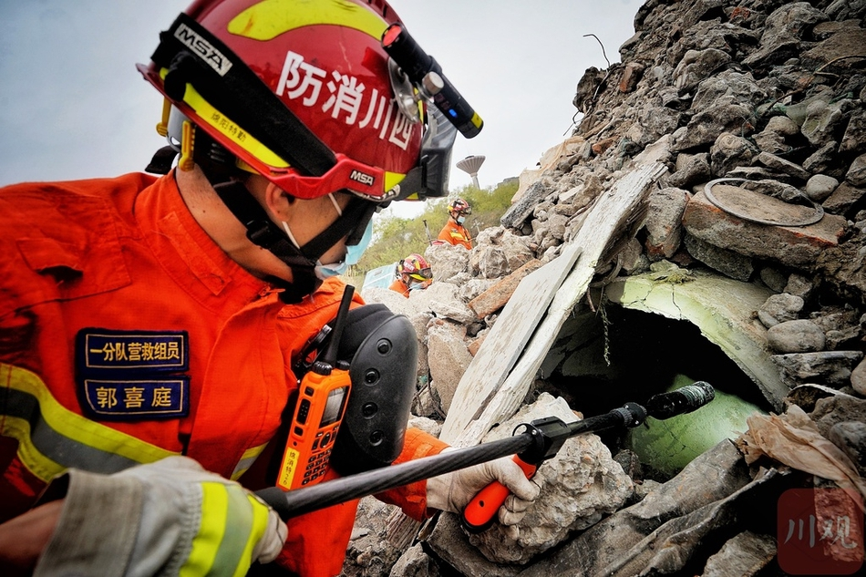 地震了,迅速集结!直击四川省消防救援总队地震救援实战演练