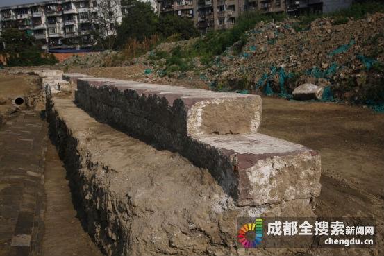 成都发现唐代城墙 筑城材料多为古墓中的墓砖
