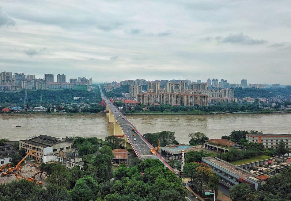 38岁的泸州长江大桥