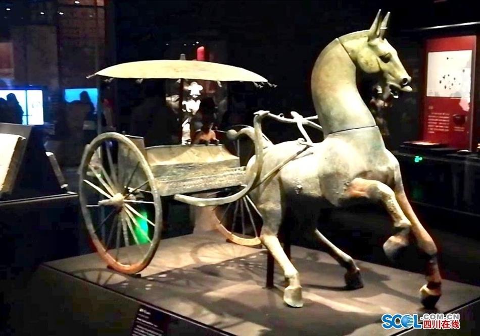 """秦汉时期的""""一线城市""""有多牛?一起去成博看看!"""