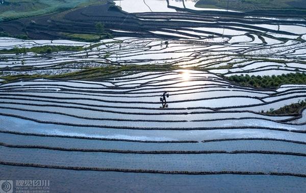 万物生长时节 看四川大地上最美的弧线