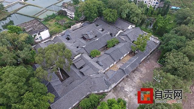 自貢這座保存完整的清代莊園建筑 如今終于得到重視