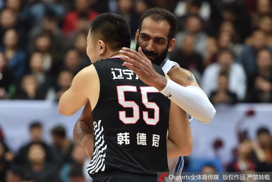CBA第1轮:四川96-107辽宁