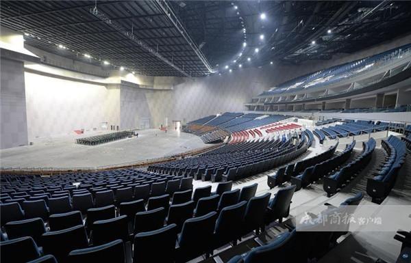 天府文化新地标 成都演艺中心7日开馆