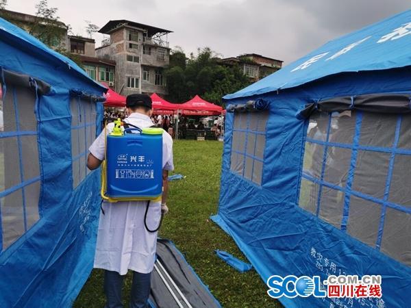 评估房屋灾损情况等 四川省住建厅第一批30名专家已赶往灾区