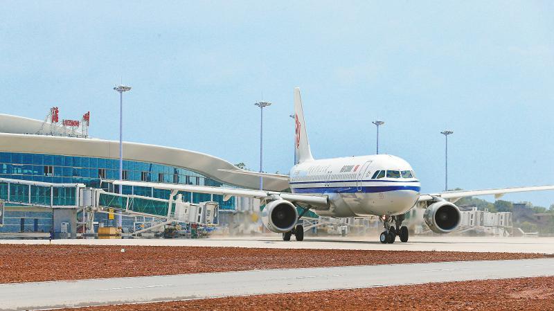 云龙机场通航 泸州南向开放再提速