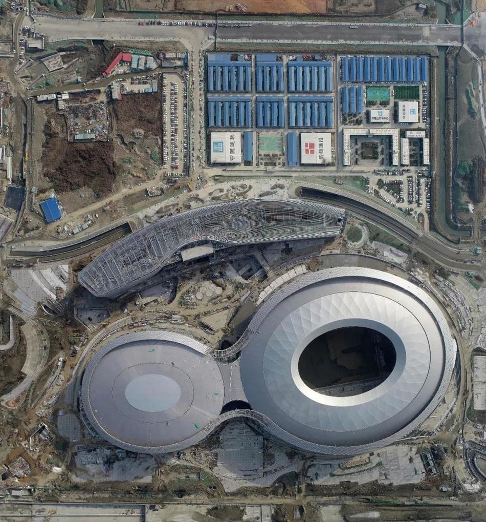 四川第二座专业足球场竣工在即 预计7月底交付使用