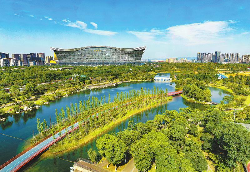 新成都 绿色公园城市画卷徐徐打开
