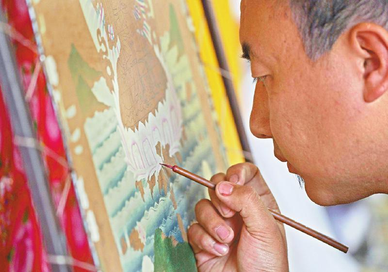 四川的非遗传习所:播下艺术和脱贫的种子