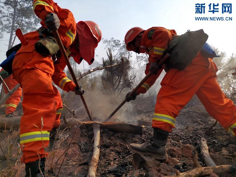 西昌森林火灾|泸山山火未造成重点单位损失 今日全线发起总攻