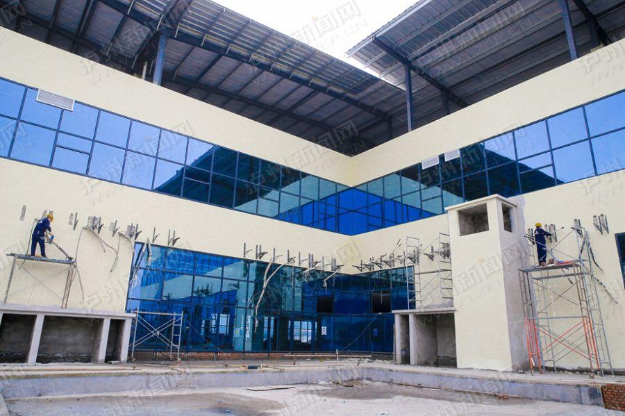 【高清】泸州城西客运站已具雏形 年底可投运