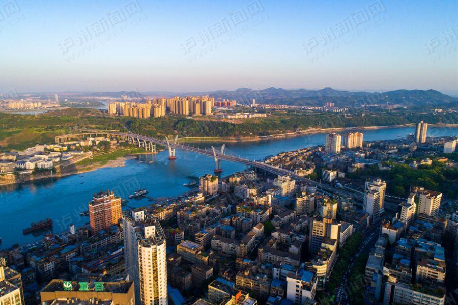 【高清】泸州 一座离不开桥的城市