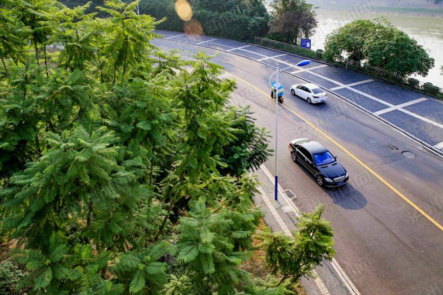 绿色酒城生态泸州 实拍泸州冬日美景