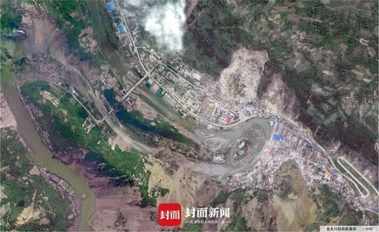 图说汶川地震十年 | 鸟瞰灾区伤痕被绿抹平