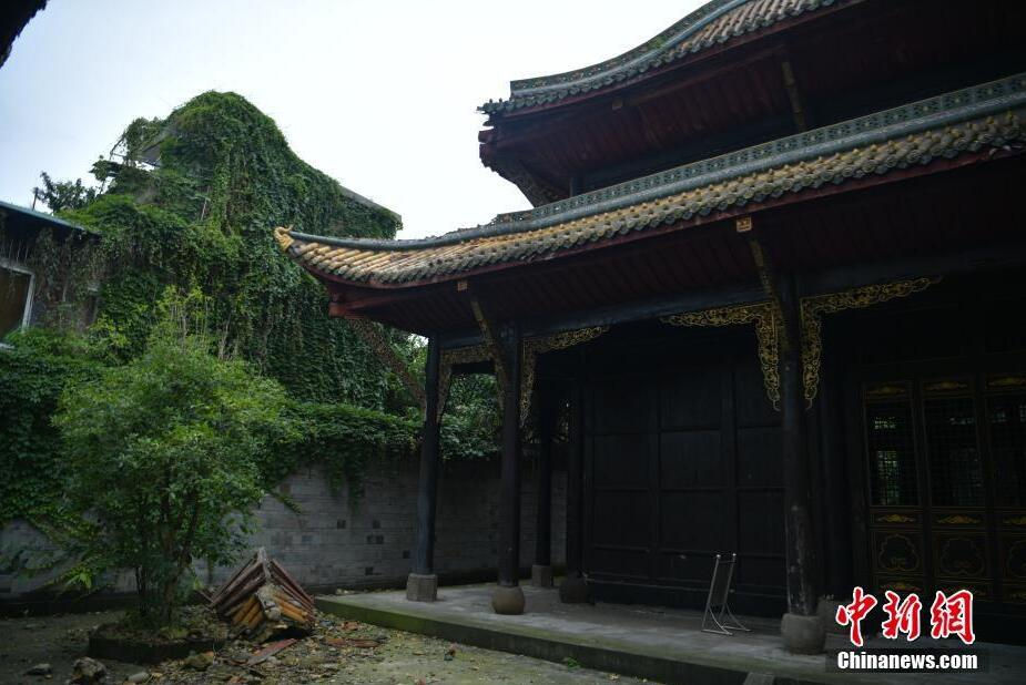 """长宁地震致省级文物保护单位""""双河文庙""""受损"""