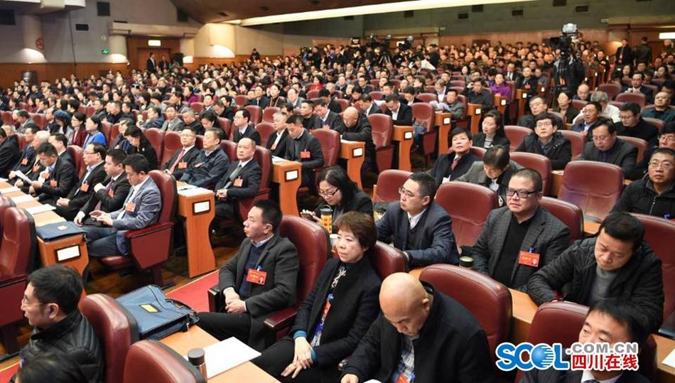 四川省政协十二届二次会议第二次全体会议上委员们发言踊跃