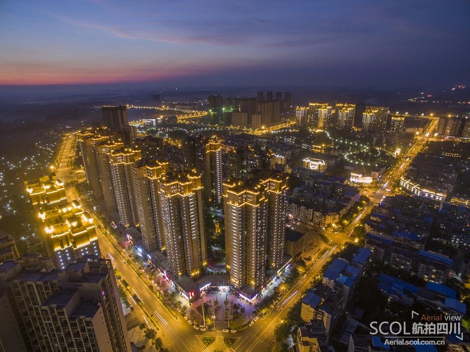 鸟瞰新隆昌 走近中国石牌坊之乡
