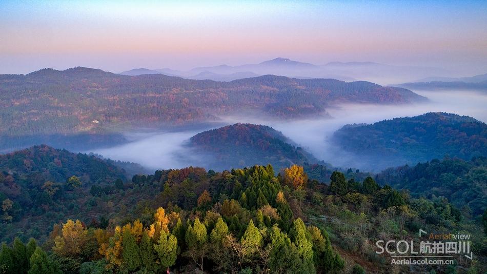 龙泉山城市森林公园 打造世界品质城市绿心