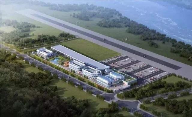 淮州新城通航机场商务中心进入规划建设阶段 将现腾飞之翼