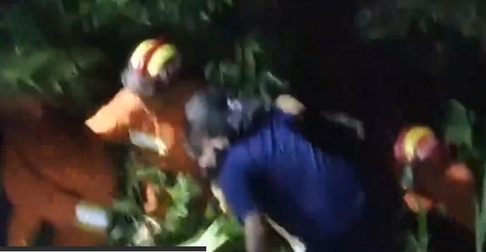 七十岁游客竹海失踪!公安交警摸黑冒雨12小时接力营救
