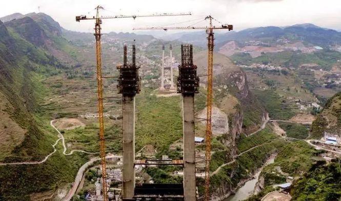 全长1407米 合江九支赤水河二桥正式动工