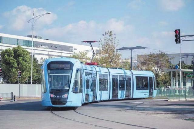 成都有轨电车进入空载阶段 预计本月开通