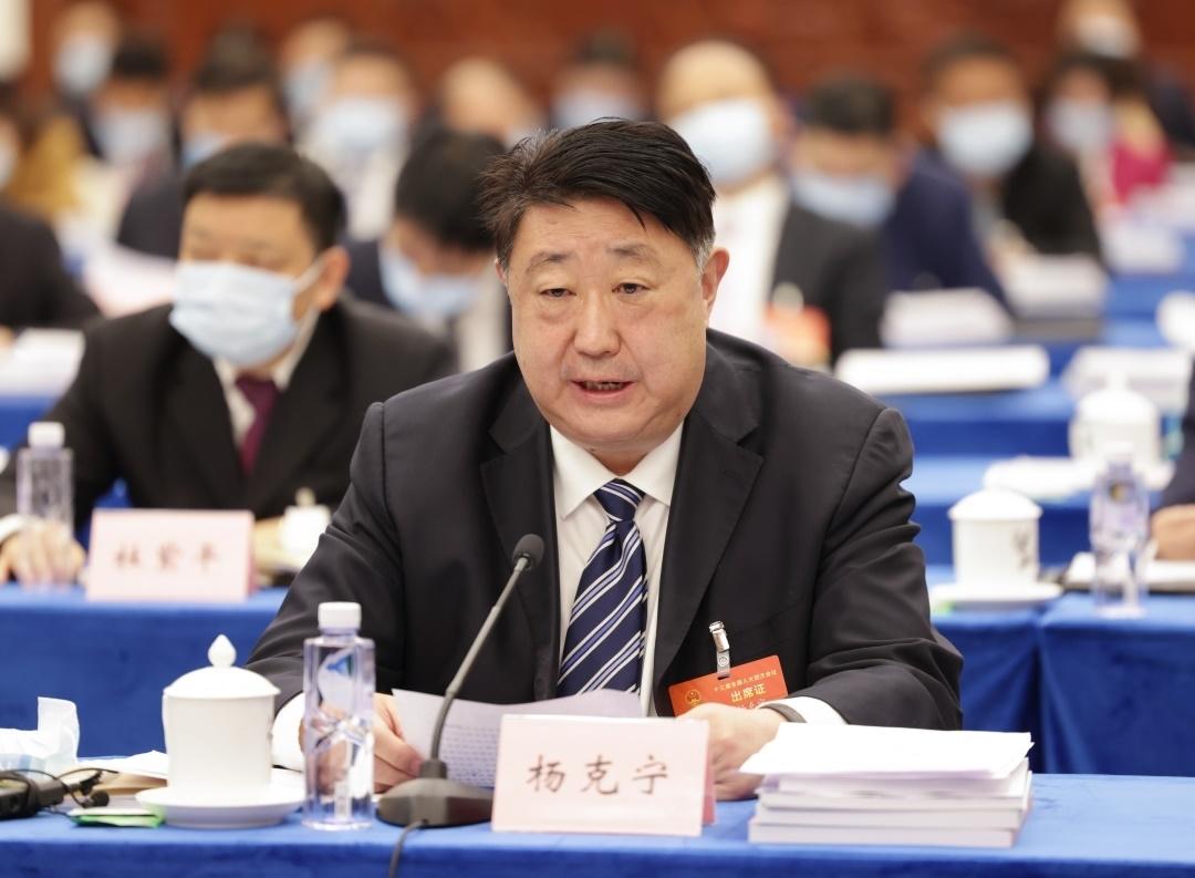 省政协副主席、阿坝州州长杨克宁:向民族地区倾斜更多政策资