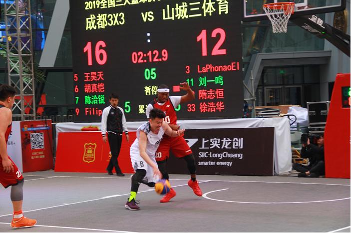 (中国篮协三人篮球部 部长柴文胜在上海站的赛前领会会议上)