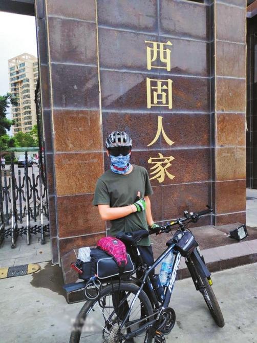 兰州95后准大学生 10天骑行951公里到成都入学