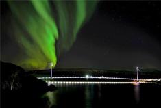 """北极圈这座跨径最大的悬索桥将开通,它是""""四川造""""!"""