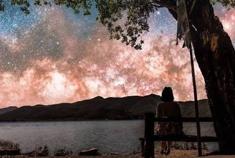 泸沽湖的满天繁星