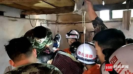 遂宁女子手被卷入和面机绞断 消防紧急救援取手