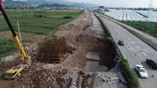 京昆高速礼州、漫水湾收费站将全封闭施工至明年1月31日
