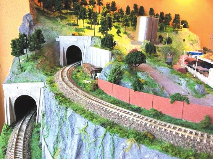 成都6旬大爷迷上火车模型 花费百万打造火车庭院