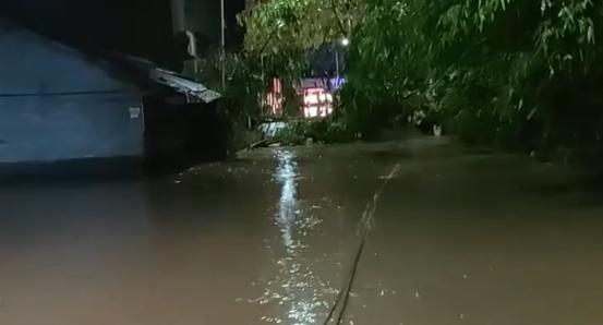 达州:暴雨致多地人员被困 消防紧急营救、转移群众24人