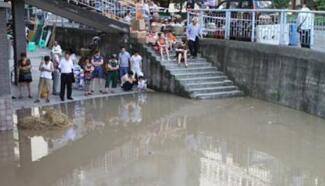 做好防范!广元南河东坝水文站将遇洪峰 今天降雨还将持续