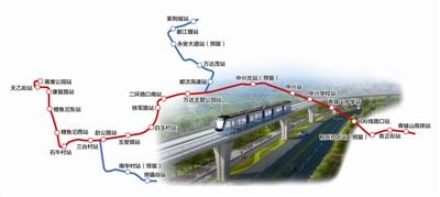都江堰M-TR旅游客运专线主线开始施工 计划2020年正式运营
