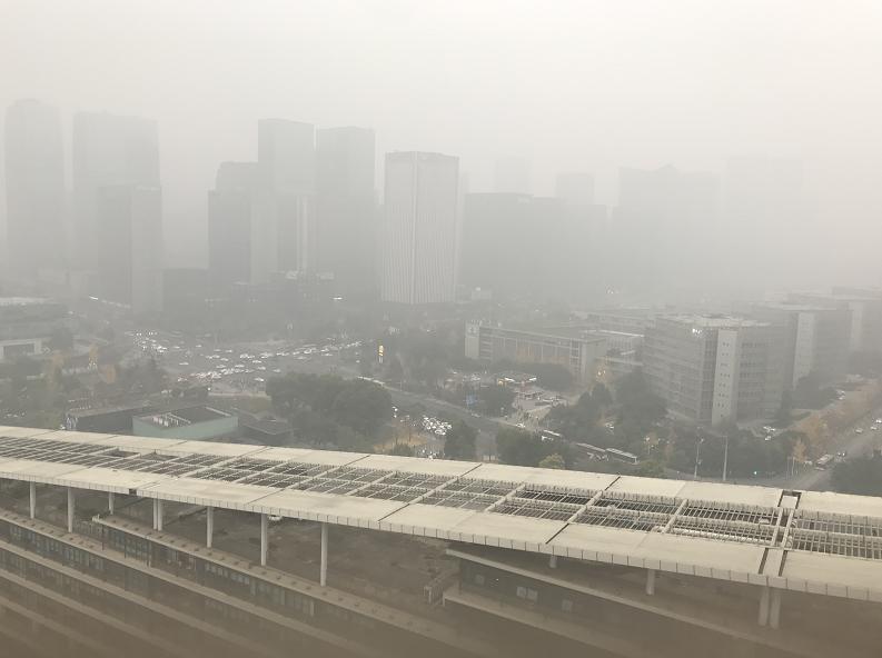 去年12月全国空气质量排名 四川两市入围前20强