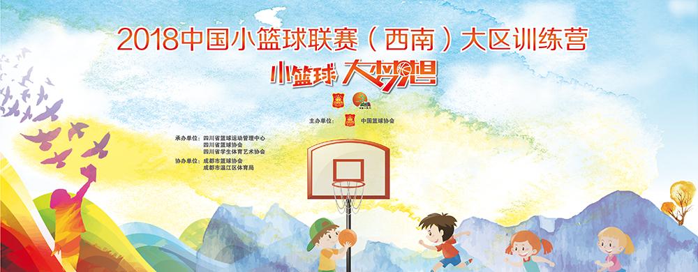 2018中国小篮球联赛(西南)大区