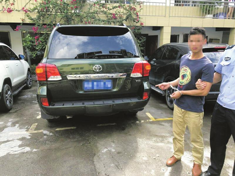 內江車主將愛車停在路邊 車內20余萬元財物被盜