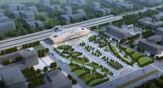18分钟抵拢成都东站 金堂淮州南站综合交通枢纽11月开建