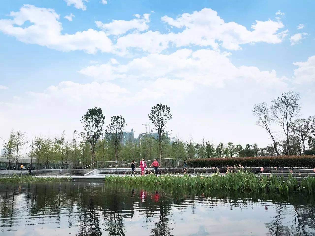城南新川之心(东区)年底建成开放 5大特色打造可持续生态景观