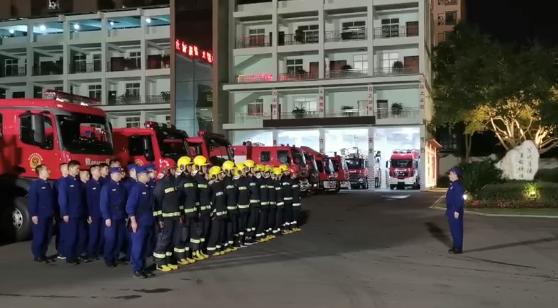 资阳消防13车47人奔赴西昌支援