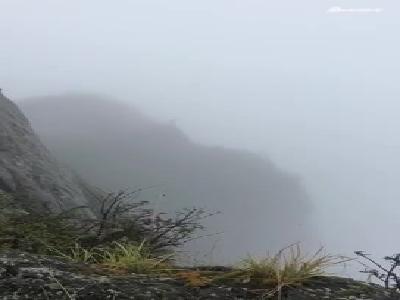 视频: 一男子在峨眉山金顶跳下舍身崖 景区正在搜救