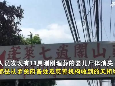 视频:泰国11名婴儿尸体被盗 疑被用于做法事