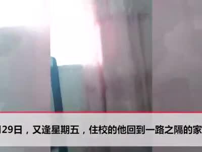 视频丨15岁少年自杀前录视频:老师这两个字 你配吗