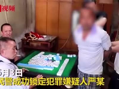 视频丨四川男子专挑白天入室盗窃 牌桌上落网仍不忘胡牌