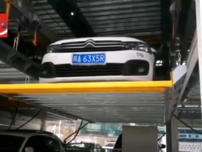 视频丨成都中心城区将陆续上岗立体停车场